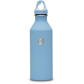 MIZU M8 Bottle with Light Blue Loop Cap 800ml Soft Touch Lt Blue LE